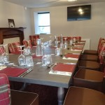 Private dining on the first floor.